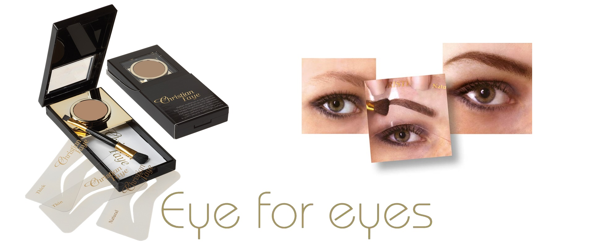 Christian Faye Eyebrow Makeup Lashes And Eyebrow Accessories